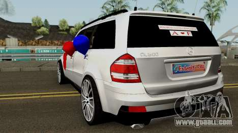 Mercedes-Benz GL (Wedding Car) for GTA San Andreas back left view