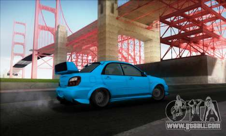 Subaru Impreza WRX STI 2003 LPcars for GTA San Andreas right view