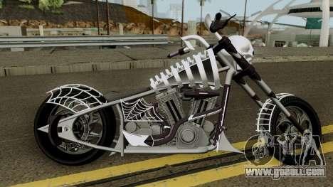 Liberty City Customs Sanctus V2 GTA V for GTA San Andreas