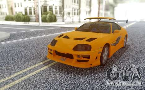 1994 Toyota Supra MK IV Fast Furious for GTA San Andreas