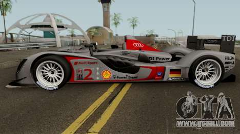 Audi R15 TDI 2009 for GTA San Andreas