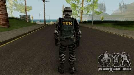 TEK Skin 3 for GTA San Andreas third screenshot