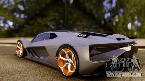 Lamborghini Terzo Millennio 2017 Concept for GTA San Andreas left view