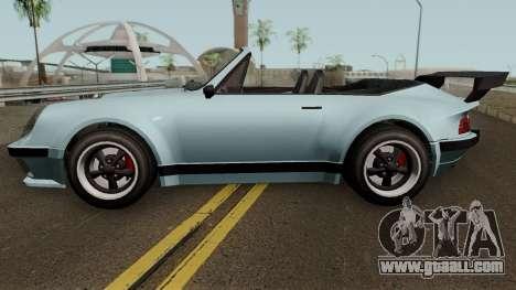 Porsche 911 Carrera Turbo (Comet Style) v1.1980 for GTA San Andreas left view