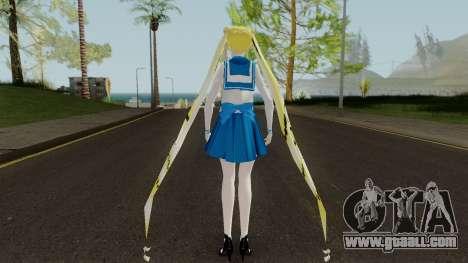 Usagi Tsukino for GTA San Andreas third screenshot