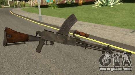 Type-99 Light Machine Gun for GTA San Andreas second screenshot