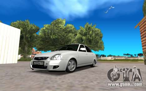 VAZ 2170 IVF for GTA San Andreas