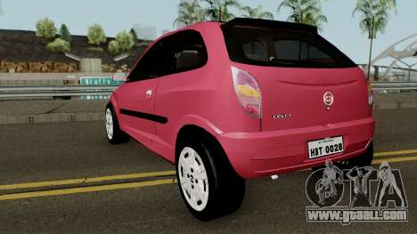 Chevrolet Celta With Paint Jobs for GTA San Andreas back left view