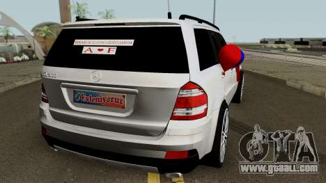 Mercedes-Benz GL (Wedding Car) for GTA San Andreas right view