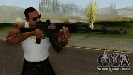 Battle Carnival AK-47M for GTA San Andreas