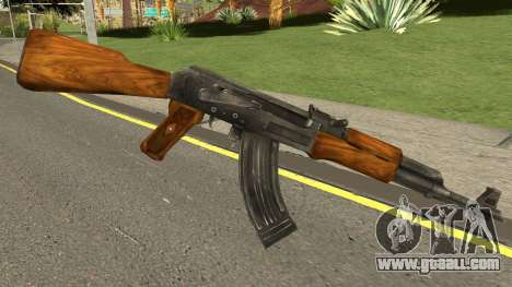 Uncharted Drakes Fortune AK-47 for GTA San Andreas
