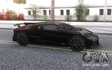 Bugatti Divo 2019 for GTA San Andreas left view