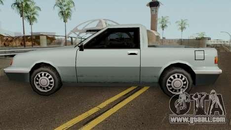 Manana Pickup for GTA San Andreas left view