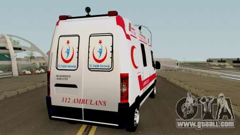 Fiat Ducato 2005 Turkish Ambulance for GTA San Andreas