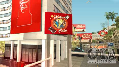 Nuka Cola Billboards for GTA San Andreas