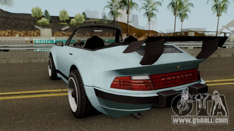 Porsche 911 Carrera Turbo (Comet Style) v1.1980 for GTA San Andreas back left view
