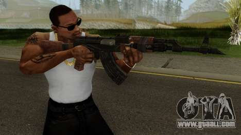 Battle Carnival AKM SKIN 1 for GTA San Andreas third screenshot