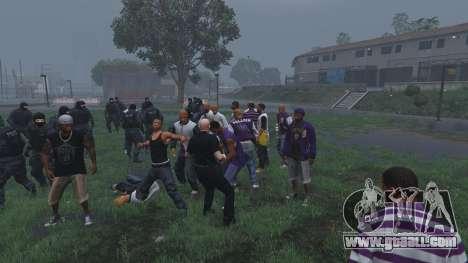 GTA 5 30 SWAT VS 60 Gangsters 1.0 sixth screenshot