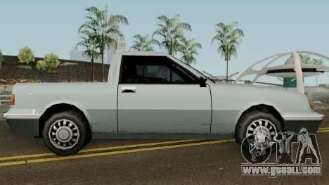 Manana Pickup for GTA San Andreas back view