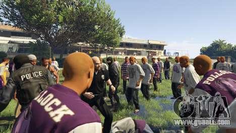 GTA 5 30 SWAT VS 60 Gangsters 1.0 second screenshot