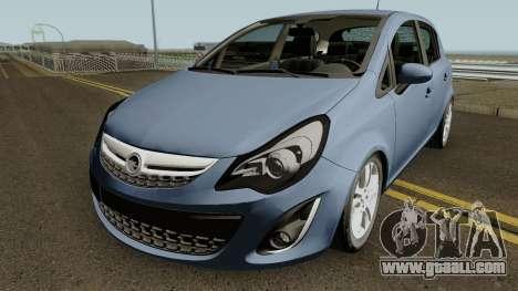 Opel (Vauxhall) Corsa D Phase 2 V1 for GTA San Andreas