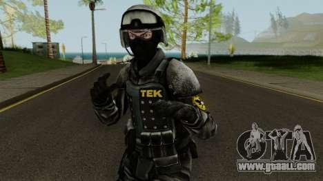 TEK Skin 3 for GTA San Andreas