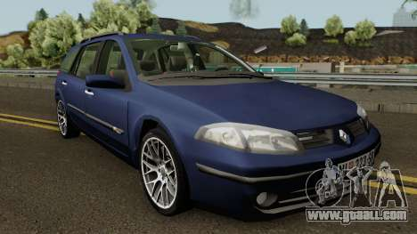Renault Laguna Mk2 SW Facelift for GTA San Andreas inner view