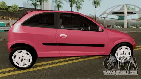 Chevrolet Celta With Paint Jobs for GTA San Andreas back view