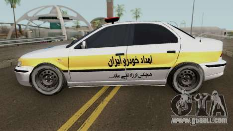 IKCO Samand - Emdad-Khodro for GTA San Andreas