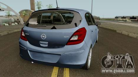 Opel (Vauxhall) Corsa D Phase 2 V1 for GTA San Andreas right view