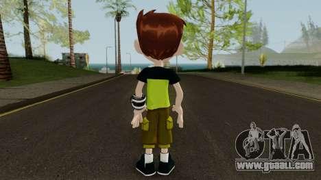Ben 10 Rebot Skin for GTA San Andreas third screenshot