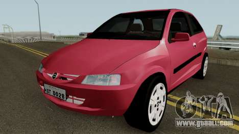 Chevrolet Celta With Paint Jobs for GTA San Andreas