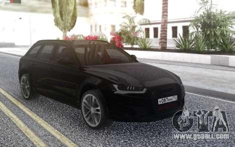 Audi RS 6 for GTA San Andreas