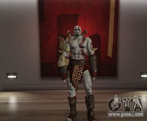GTA 5 Kratos - God of War III
