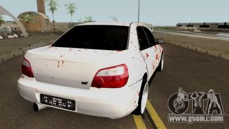 Subaru SuBloody Impreza for GTA San Andreas right view