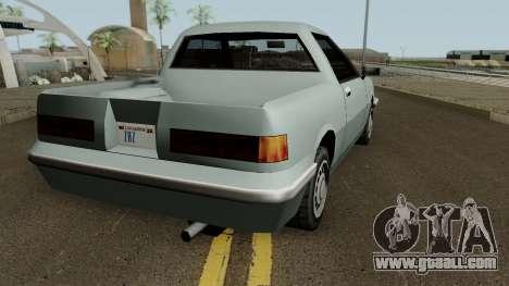 Manana Pickup for GTA San Andreas right view
