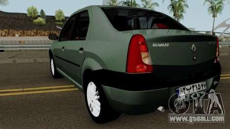Renault Tondar 90 (Iranian) for GTA San Andreas back left view