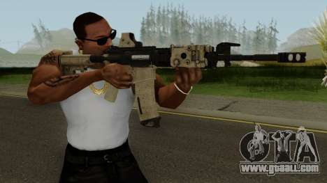 Battle Carnival M4A1 for GTA San Andreas