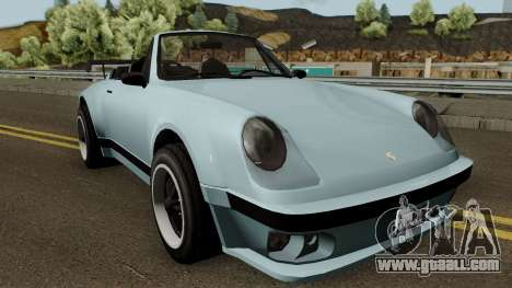 Porsche 911 Carrera Turbo (Comet Style) v1.1980 for GTA San Andreas inner view