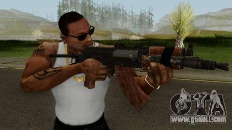 Battle Carnival AKS-74 for GTA San Andreas