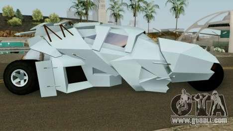 BatMobile for GTA San Andreas
