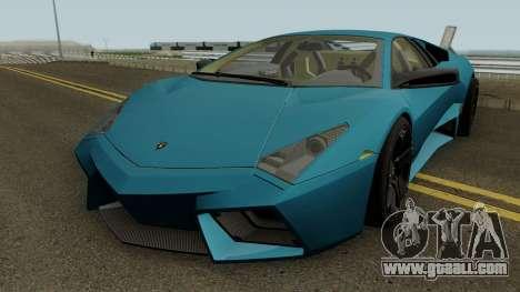 Lamborghini Reventon 2007 for GTA San Andreas