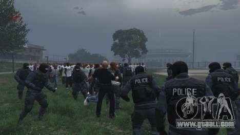 GTA 5 30 SWAT VS 60 Gangsters 1.0 fifth screenshot