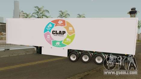 Remolque CLAP V.2 for GTA San Andreas