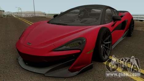McLaren 600LT 2018 for GTA San Andreas