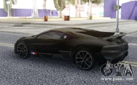 Bugatti Divo 2019 for GTA San Andreas right view