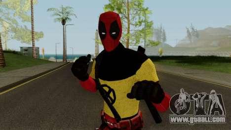 Deadpool With X-Men Shirt From Deadpool 2 for GTA San Andreas