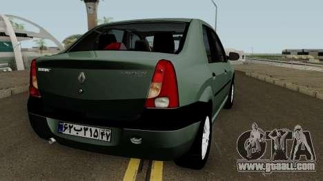 Renault Tondar 90 (Iranian) for GTA San Andreas right view