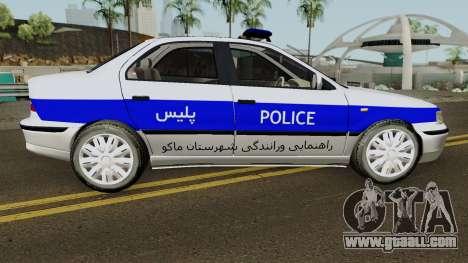 IKCO Samand Police LX-v2 for GTA San Andreas