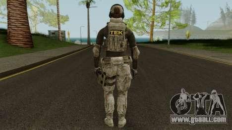 Noi TEK Skin for GTA San Andreas